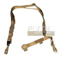 FLYYE Tactical Three Point Sling(Khaki)