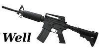 WELL M4A1 Carbine Gas Blowback Rifle