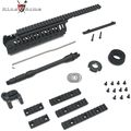 "King Arms CASV Handguard Set (Ver.2) w/ 10.5"" Outer Barrel -BK"
