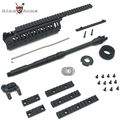 "King Arms CASV Handguard Set (Ver.2) w/ 14.5"" Outer Barrel -BK"
