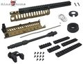 "King Arms CASV Handguard Set w/ 10.5"" Outer Barrel -TAN"