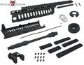 "King Arms CASV Handguard Set w/ 10.5"" Outer Barrel -BK"