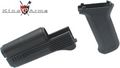 King Arms AK74M Handguard & Grip -BK
