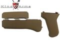 King Arms AK47 Handguard & Grip - Tan