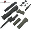 King Arms AK47S Metal Body Deluxe Set A - OD