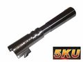 "5ku 5""Comp-Ready Steel Outer Barrel for Marui Hi INFINITY.45 ACP"