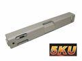 5KU CNC Slide & Barrel Set for marui G17(Silver)