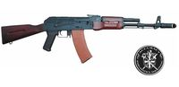 A.P.S. AK74N AEG Rifle (Wood)