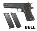 BELL Gas BlowBack Colt M1911A1 GBB Pistol (Upgrade Version)