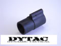 DYTAC Low Profile Gas Block in Black