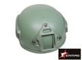 EAIMING MICH 2001 Helmet with NVG Mount & ARC Rail (OD)