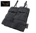 FLYYE Molle EV Universal Double Mag Pouch( Black)