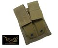 FLYYE MOLLE Double 9mm Mag Pouch(Coyote Brown)