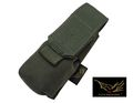 FLYYE MOLLE Single 9mm Mag Pouch Ver.FE(Ranger Green)