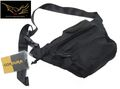 FLYYE low-pitched waist pack(Black)