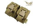 FLYYE Double Fragmention Grenade Pouch (Coyote Brown)