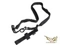 FLYYE Tactical Three Point Sling(Black)