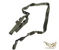 FLYYE Tactical Three Point Sling(Ranger Green)