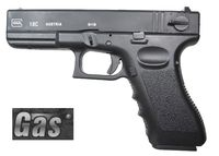 GAS GLOCK 18C Metal Slide Fully/Semi Auto GBB Pistol