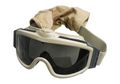 NOB Turbo Fan DL Protect Goggle Set (Desert Tan)