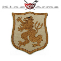 King Arms Devgru Gold Lion Embroidery Patch - TAN
