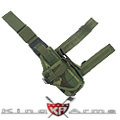 King Arms  Tactical Leg Holster - Camo