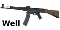 WELL MP44 Full Metal Airsoft AEG (Wood Stock)