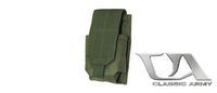 Classic Army M4/M16 Single Magazine Pouch x1 (OD Green)