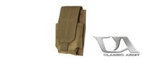 Classic Army M4/M16 Single Magazine Pouch x1 (Khaki)