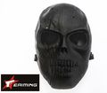 eAiming Skeleton ARMY OF TWO Plastic Full Face Mask (BK-302)
