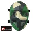 EAIMING Steel Mesh Deluxe Full Face Mask (Camo 304-1)
