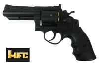 HFC HG-132 6mm Gas Magnum Revolver (Full Black)