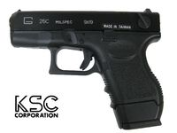 KSC G26C Gas Blow Back Pistol (Metal Slide Version)