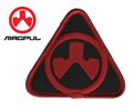 Magpul PTS Dynamics logo Velcro Patch (BK & Red)