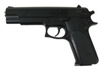 (K-6) SMART Metal Body Spring Pistol Gun (No Marking)