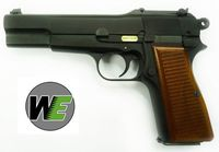 WE Browing Hi-Power 35 GBB Pistol (BK) without Marking