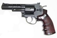 WG 701 CO2 4inch Magnum High Power Revolver (Black)