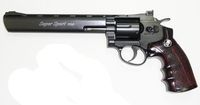 WG 703 CO2 8inch Magnum High Power Revolver (Black)