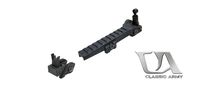 Classic Army Long Rail & Flip Up Sight Set For CA36 Series