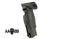 AABB Polymer Foldable Vertical Grip for RAS (Black)