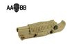 AABB Polymer Foldable Vertical Grip for RAS (TAN)