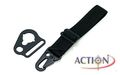 ACTION Sling Adaptor With Rectangle Type (Black)