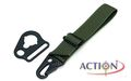 ACTION Sling Adaptor With Rectangle Type (Green)