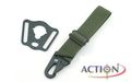 ACTION Sling Adaptor Wite Rectangle (Type B)(Green)