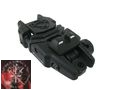 A.P.S High quality Flip up Tactical Rear Sight -Black