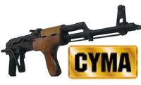 CYMA Electric Blowback Metal & Real Wood AK AEG Rifle (CM050)