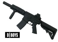 D-Boys Boyi M4 RIS SD CQB Metal AEG Rifle (BY-038)
