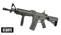 D-BOYS Metal Frame M4 CQB Compact AEG Rifle With Fore Grip 5781M