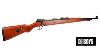 D-BOYS K98 Kurz Real Wood Bolt Action Shell-Ejecting Rifle