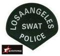 EAIMING LOSAANELES SWAT POLICE patch
